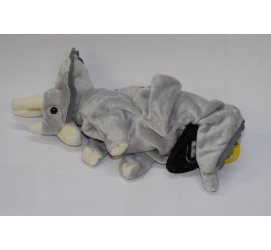 Handpuppet Triceratops