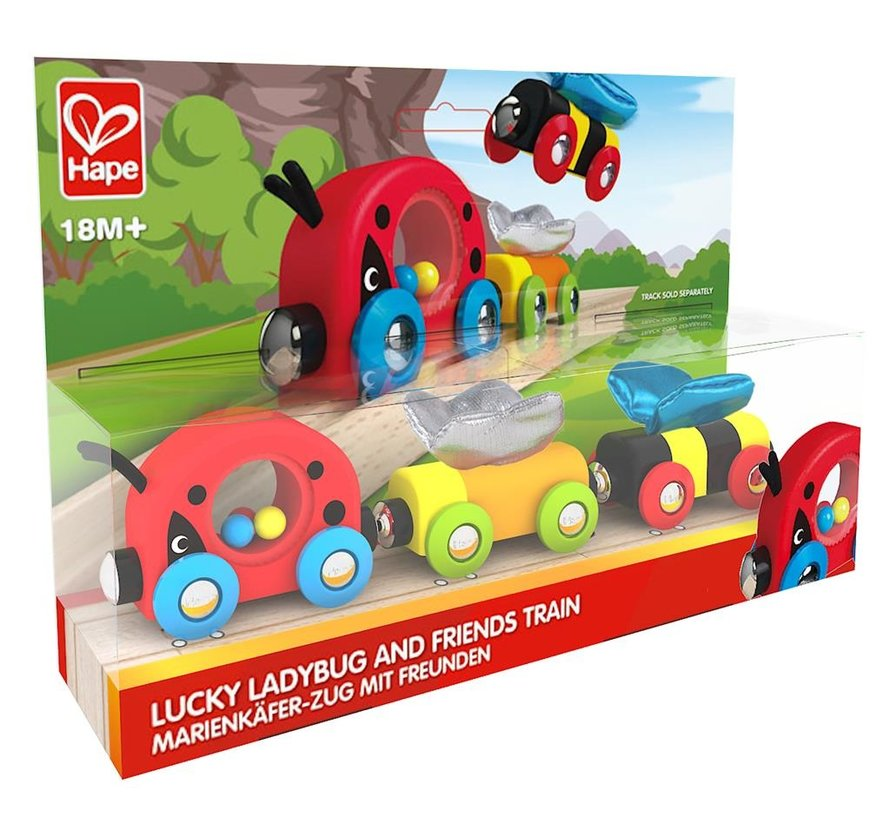 Trein Lieveheersbeestje Lucky Ladybug and Friends Train