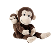 Beleduc Handpuppet Monkey Cheeta & Bibi