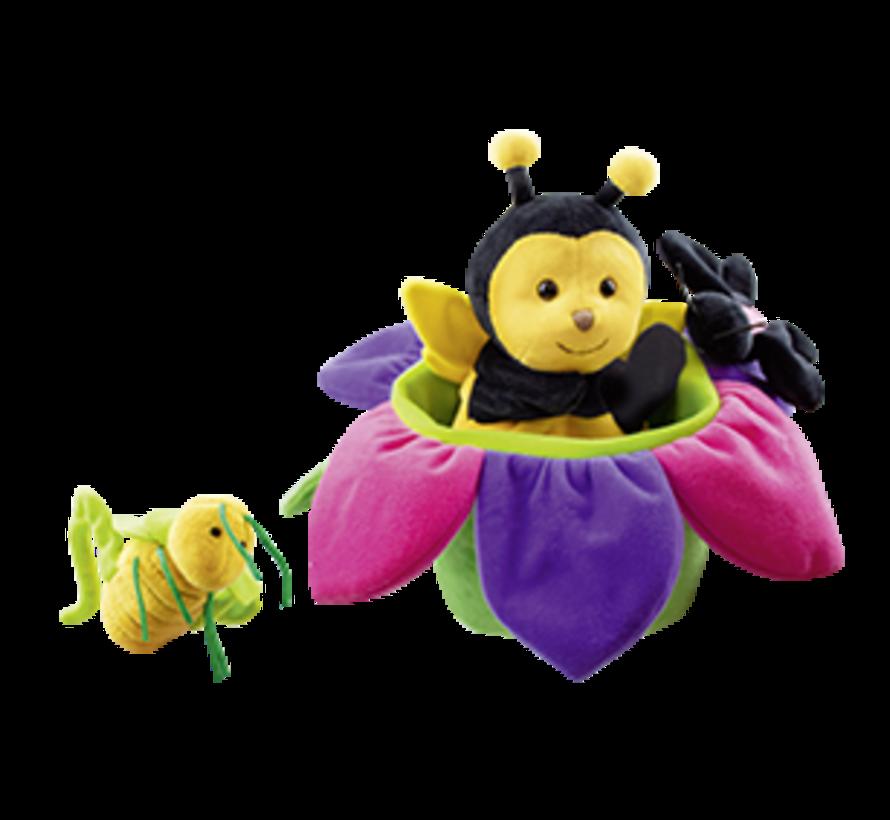 Handpop Bij Bina Bee and Friends