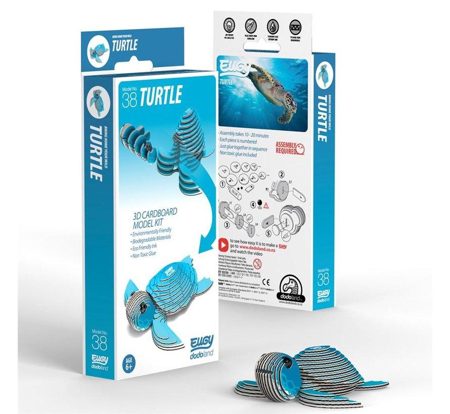 3D Bouwpakket Schildpad