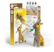 Eugy 3D Cardboard Model Kit Giraffe