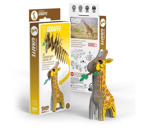 Eugy 3D Bouwpakket Giraf