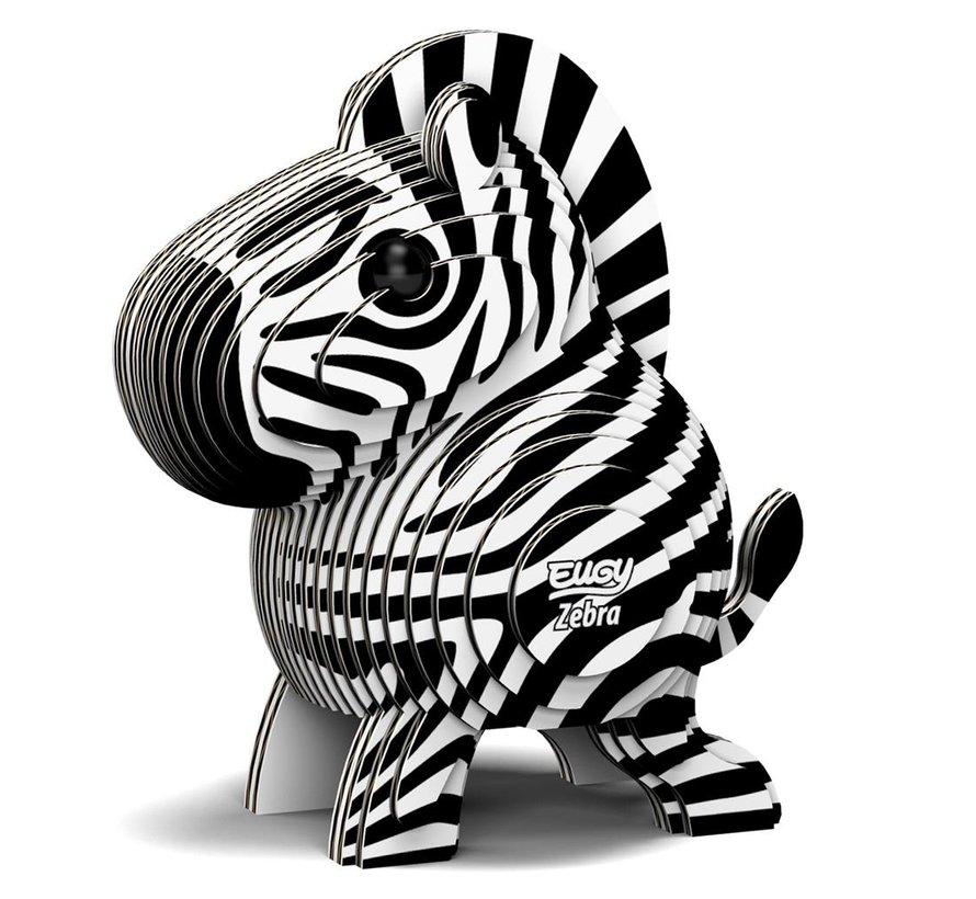 3D Bouwpakket Zebra