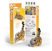 Eugy 3D Cardboard Model Kit Tiger