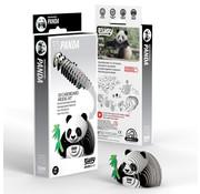 Eugy 3D Cardboard Model Kit Panda