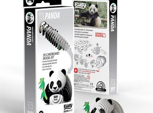 Eugy 3D Bouwpakket Panda