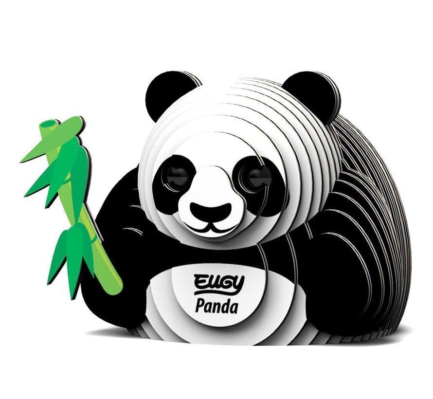 3D Cardboard Model Kit Panda