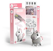 Eugy 3D Cardboard Model Kit Unicorn