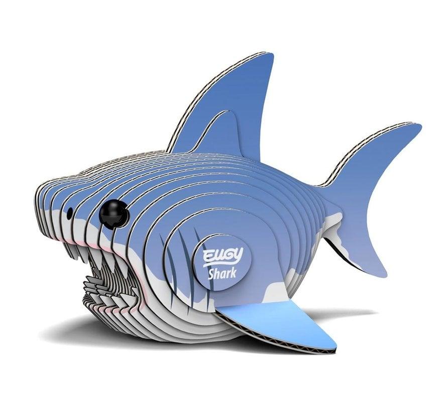 3D Cardboard Model Kit Shark