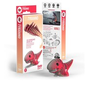 Eugy 3D Cardboard Model Kit Tyranno