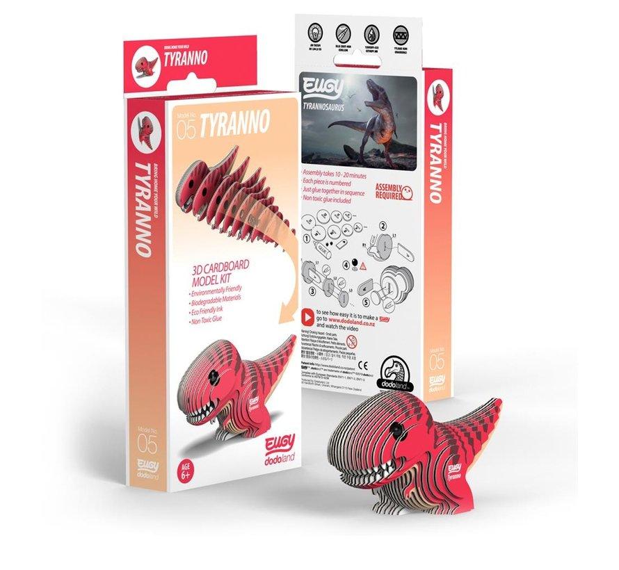 3D Cardboard Model Kit Tyranno