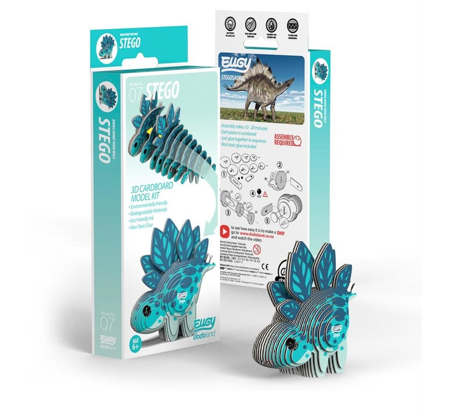 3D Bouwpakket Stegosaurus