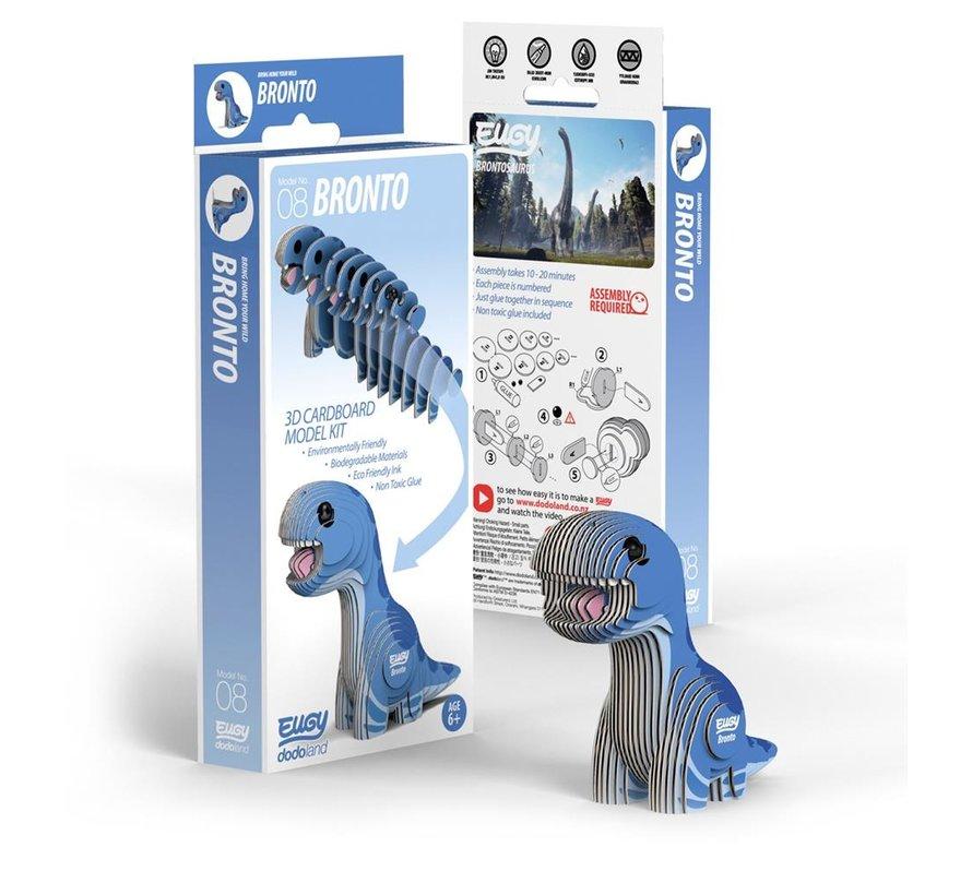 3D Cardboard Model Kit Bronto