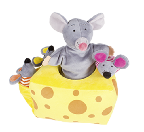 Beleduc Handpuppet Story Mila Mouse and Friends