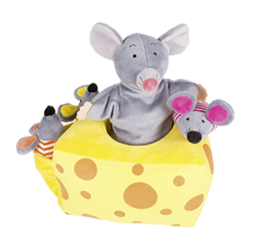 Handpuppet Story Mila Mouse and Friends
