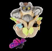 Beleduc Handpuppet Otis Owl and Friends