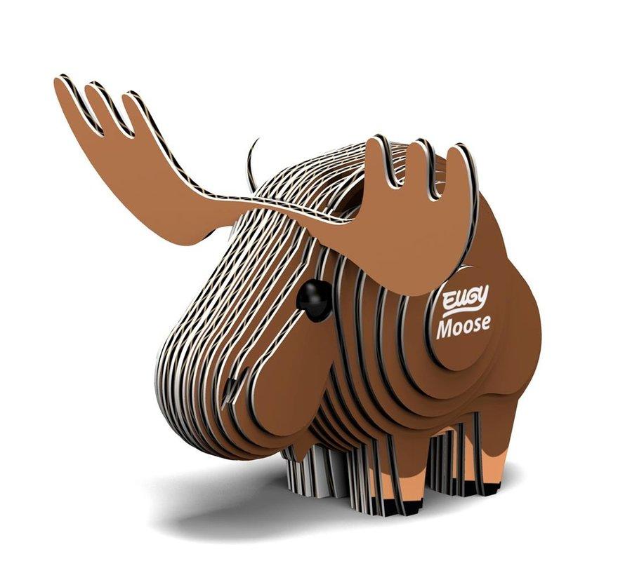 3D Cardboard Model Kit Moose