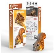 Eugy 3D Cardboard Model Kit Chipmunk