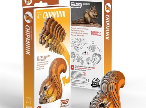 Eugy 3D Bouwpakket Eekhoorn