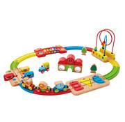 Hape Rainbow Puzzle Railway