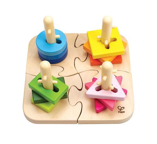 Hape Creative Peg Puzzle