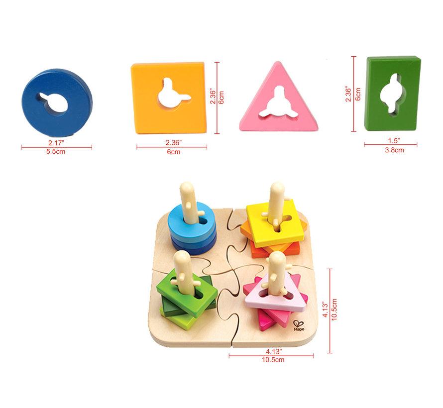 Puzzel Vorm en Kleurherkenning