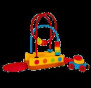 Hape Bead Maze Rainbow Track
