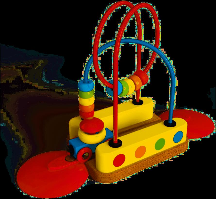Bead Maze Rainbow Track