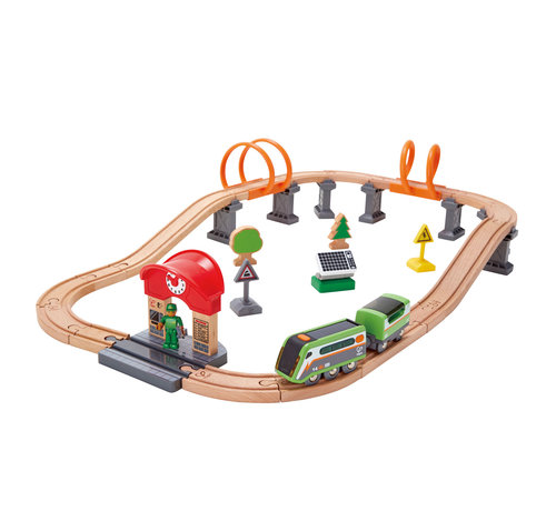 Hape Train Solar Power Circuit