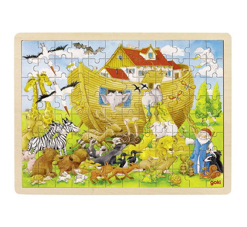 GOKI Puzzle, enter into Noah's Ark