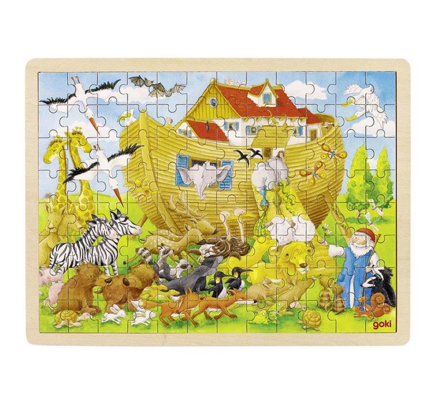 Puzzle, enter into Noah's Ark