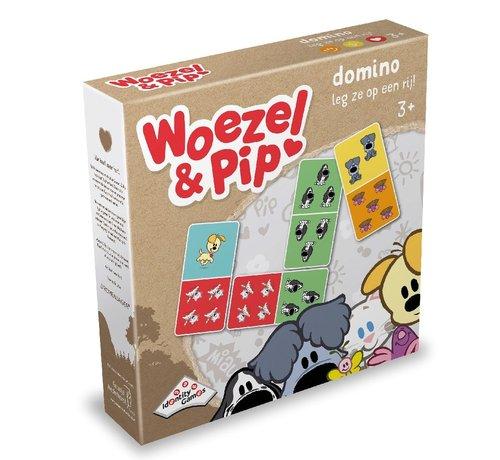 Woezel en Pip Domino