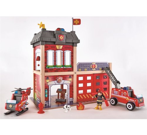 Hape Brandweerkazerne Speelset