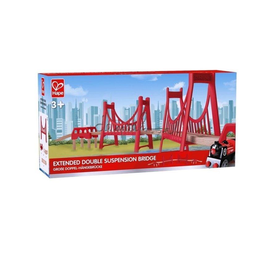 Spoordeel Dubbele Hangbrug