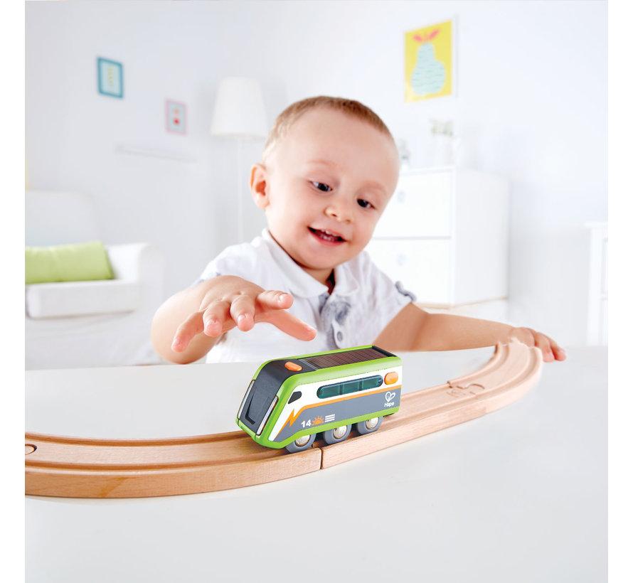 Trein Locomotief op Zonneenergie