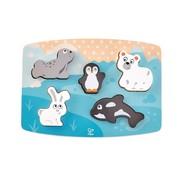 Hape Polar Animal Tactile Puzzle