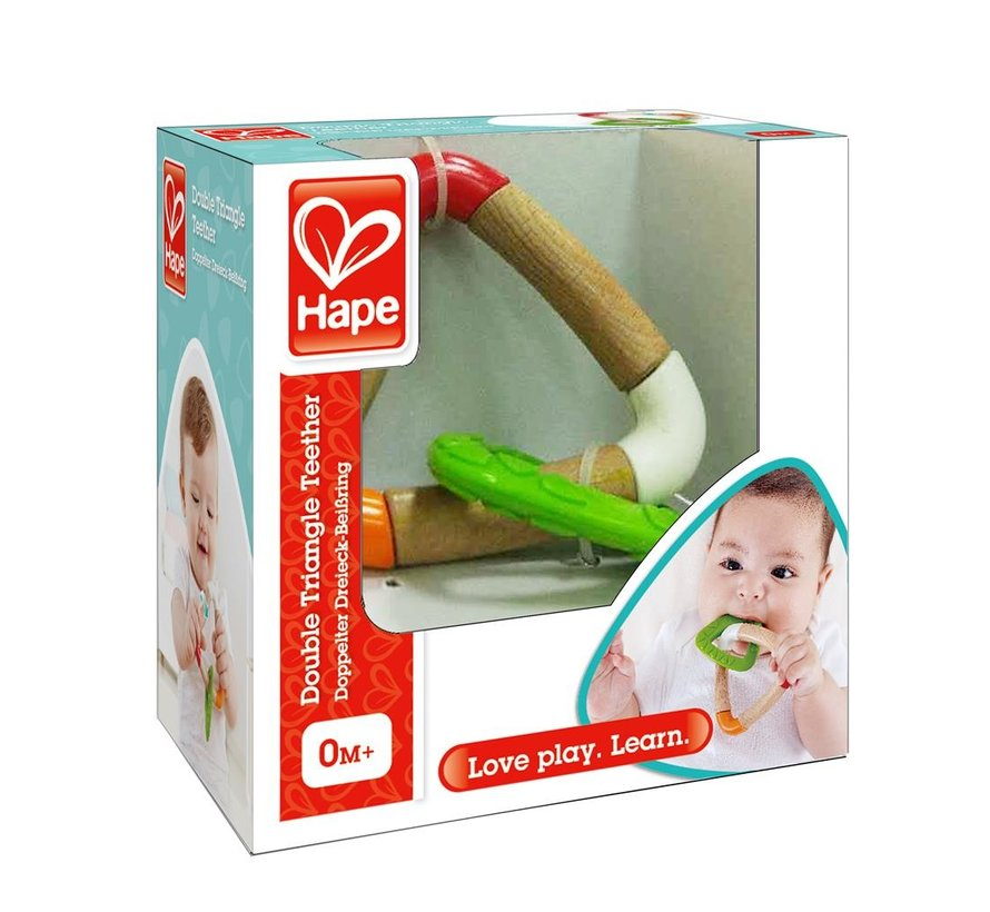 Bijtring Double Triangle Teether