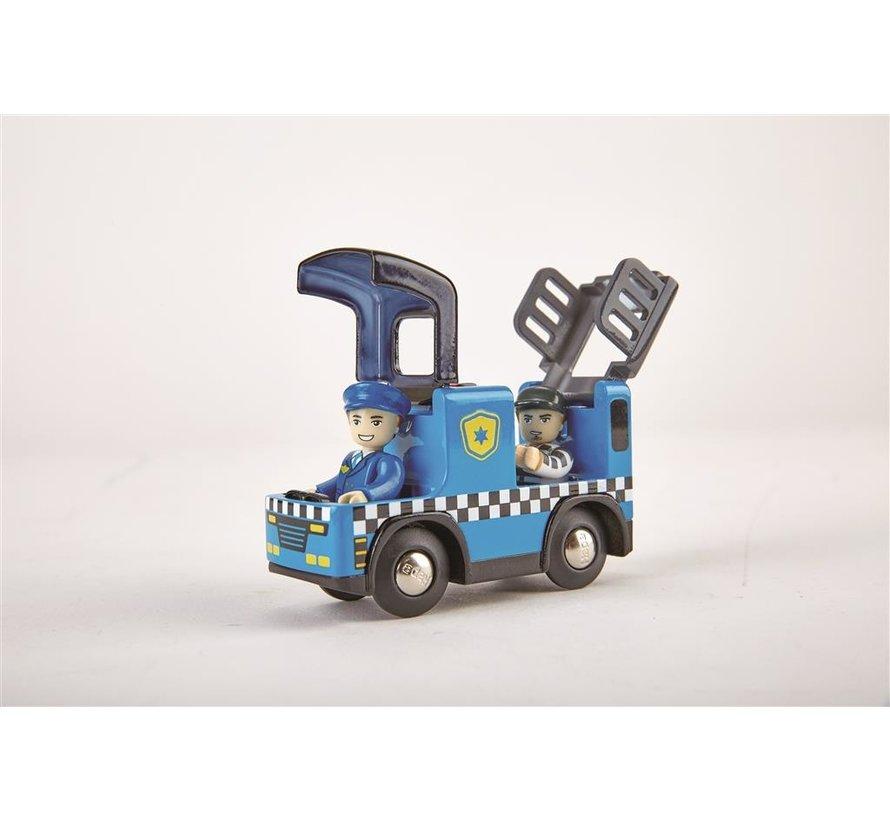 Politie Auto met Sirene