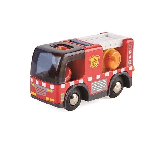 Hape Brandweerauto met Sirene
