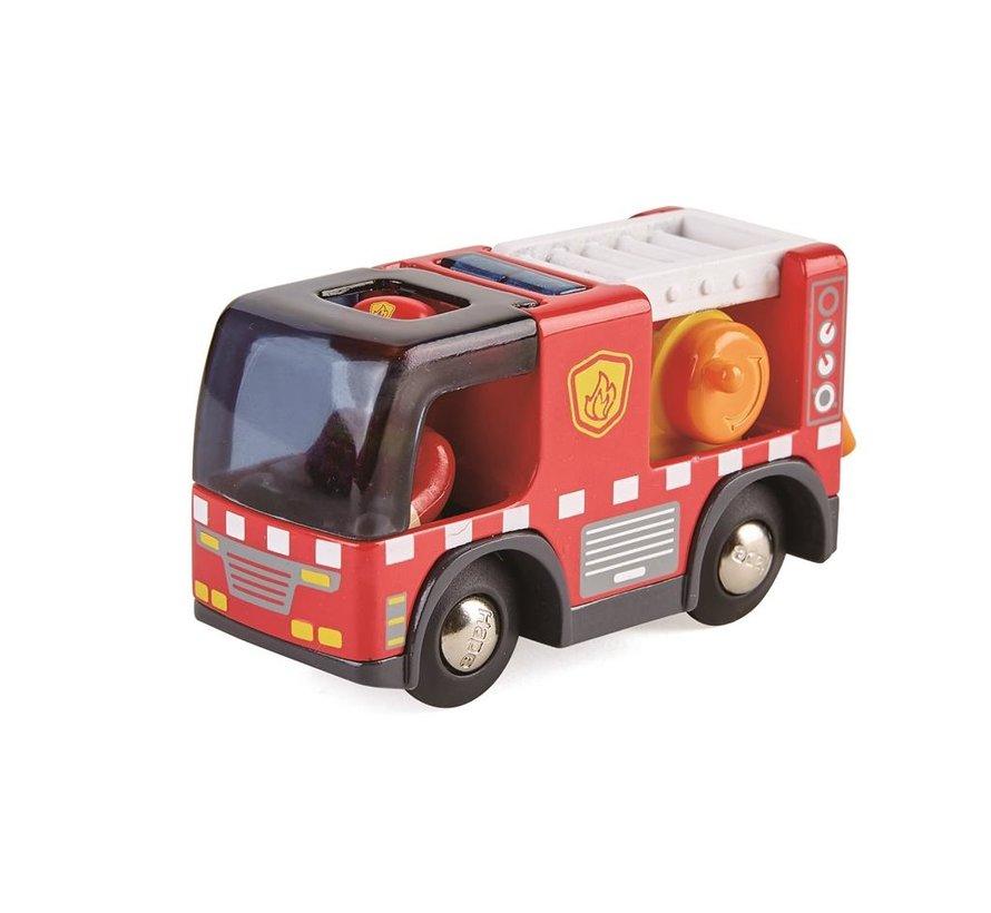 Brandweerauto met Sirene
