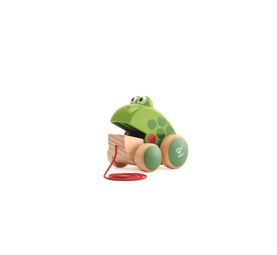 Pull along Frog