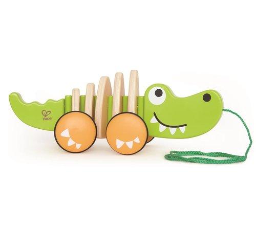 Hape Trekfiguur Croc de Krokodil