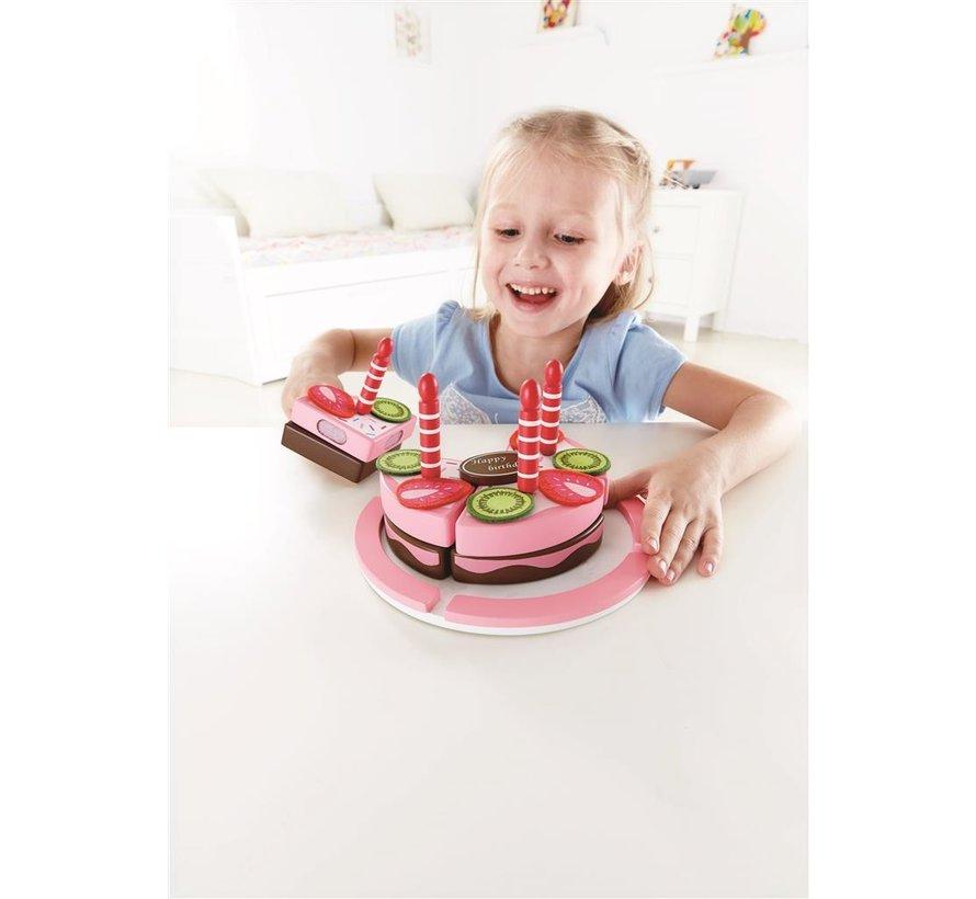 Double FlavoredBirthday Cake