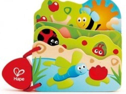 Hape Baby's Insectenboek