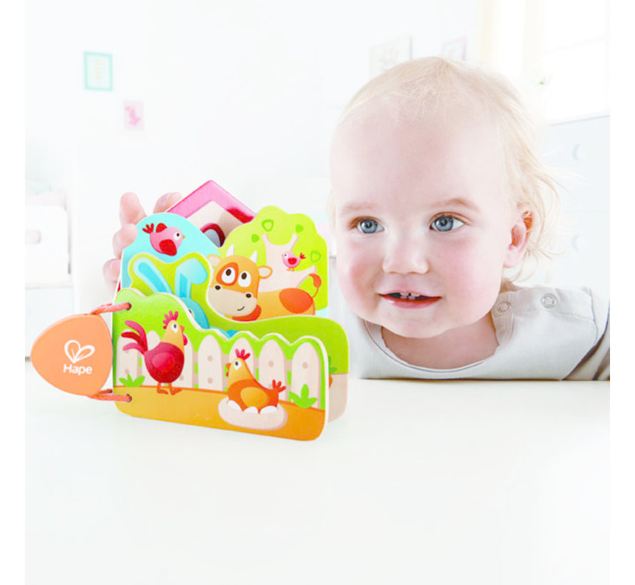 Baby's Boerderijdieren Boek
