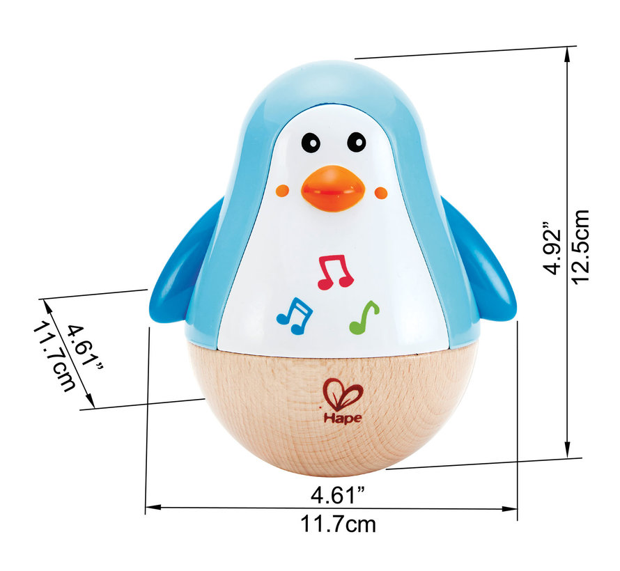 Pinguin Musical Wobbler