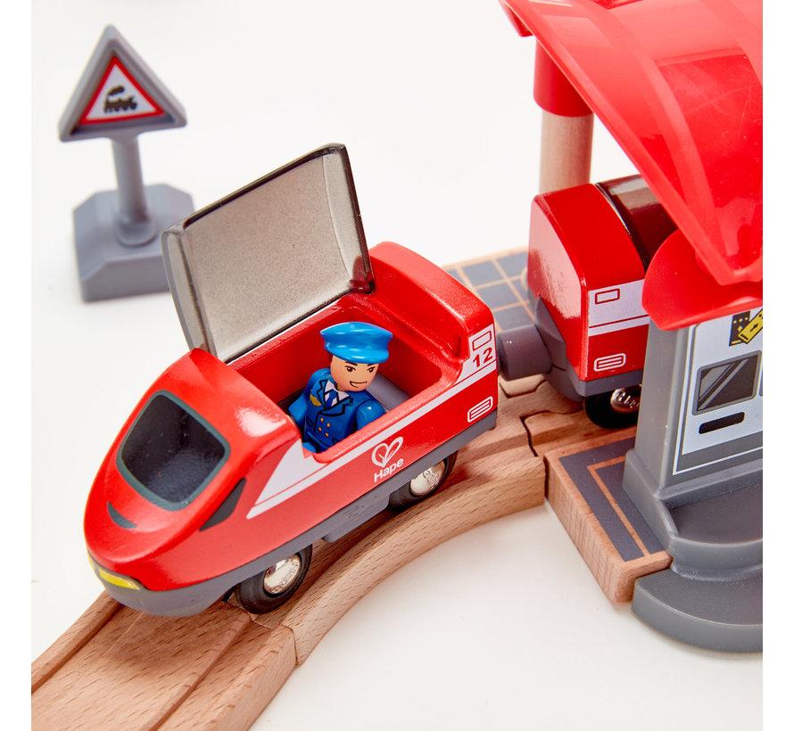 Treinset Busy City Rail
