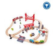 Hape Treinset Busy City Rail
