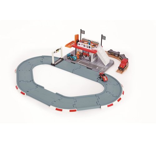 Hape Race Track Station